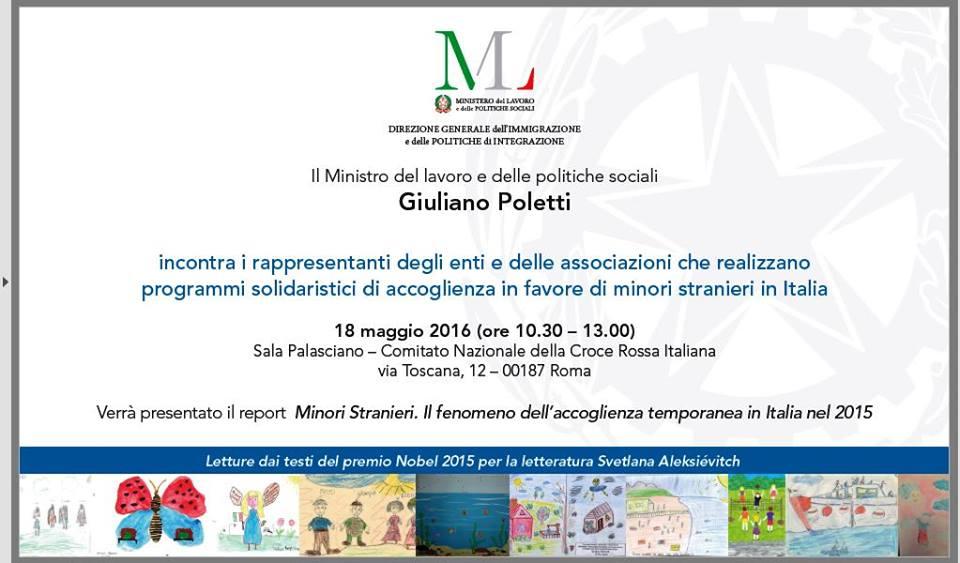 La Puer dal Ministro Poletti