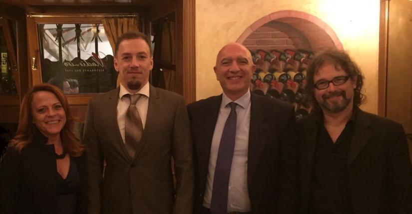 La Puer incontra il direttore del Centro Nazionale Adozioni di Minsk