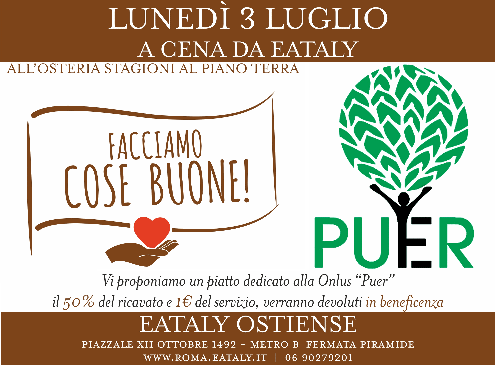 EATALY incontra PUER
